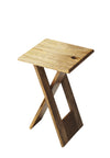 HAMMOND - NATURAL WOOD - FOLDING TABLE