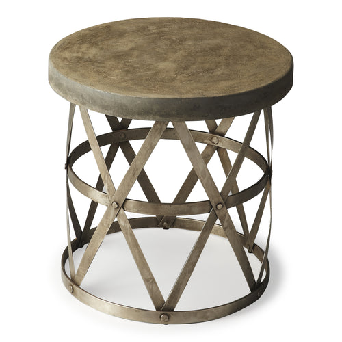 DOBSON - INDUSTRIAL CHIC - SIDE TABLE