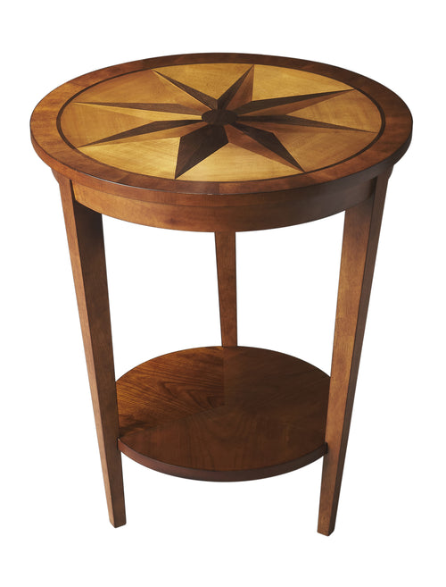 SERENADE - NUTMEG - ACCENT TABLE