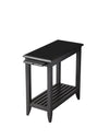 IRVINE - BLACK LICORICE - CHAIRSIDE TABLE