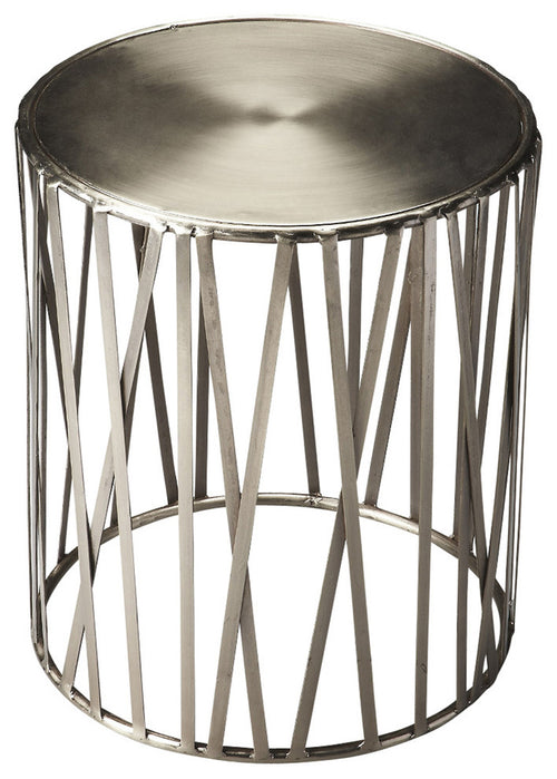 KRUSE - IRON - DRUM TABLE