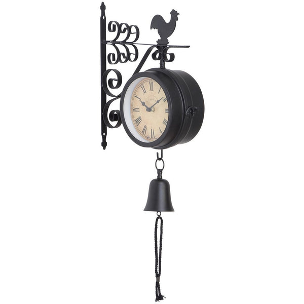 Double Clock Wall Mount