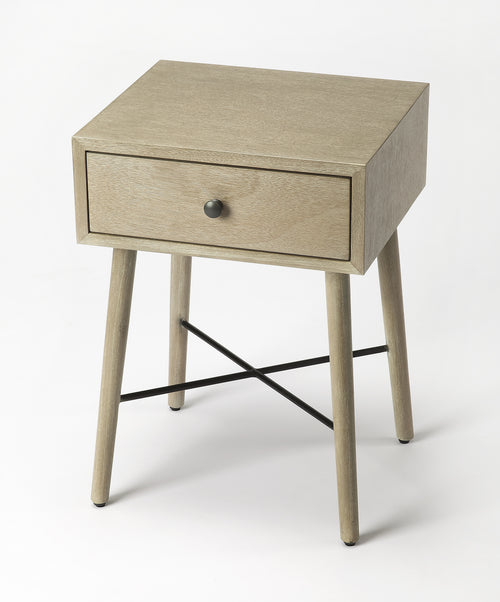DELRIDGE - GRAY - END TABLE