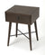 DELRIDGE - COFFEE & BLACK - END TABLE