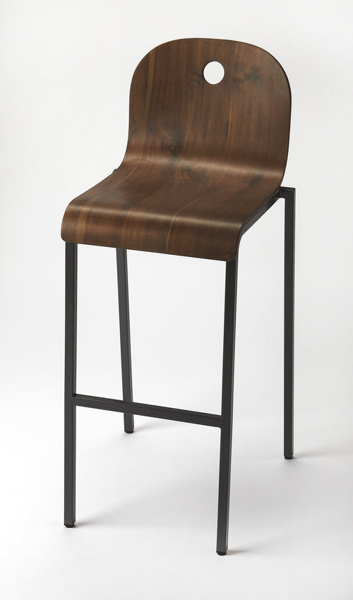 WATNEY - ORANGE - BAR STOOL