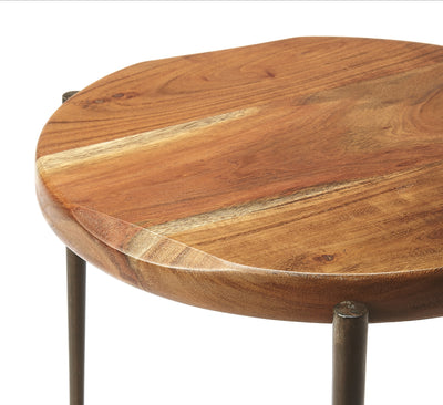 BRISBANE - LIVE EDGE - ACCENT TABLE