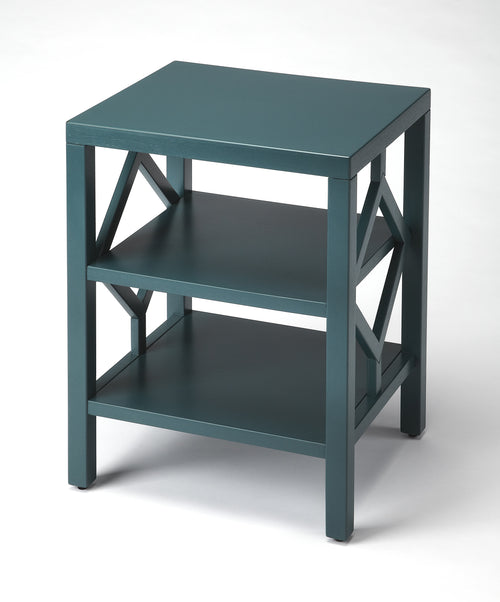METROPOLIS - METAL & MIRROR - SIDE TABLE