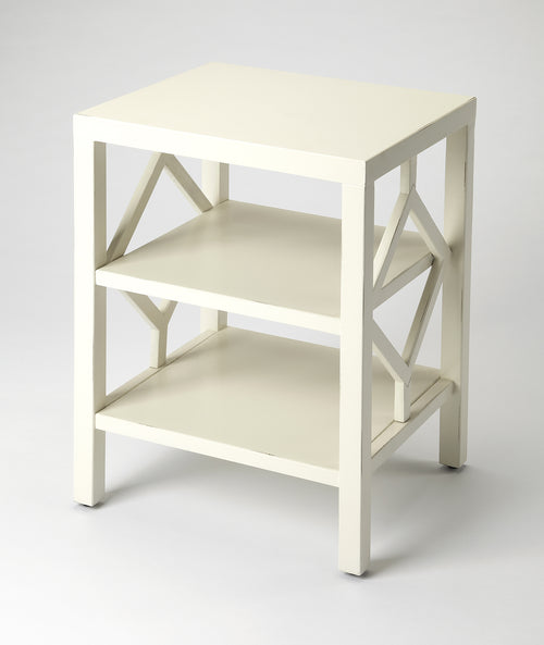 HALCYON - WHITE - END TABLE