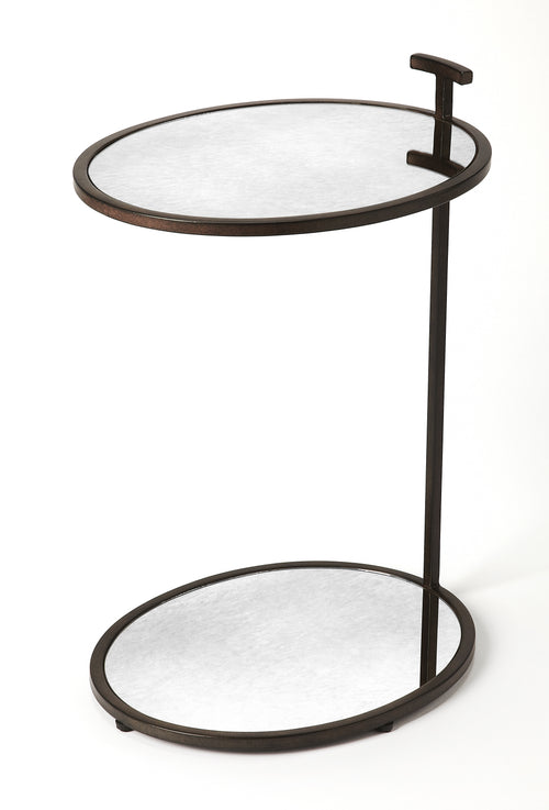 CIRO - MIRROR & METAL - SIDE TABLE