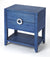 AMELLE - BLUE RAFFIA - END TABLE