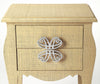 FELICIA - NATURAL RAFFIA - END TABLE
