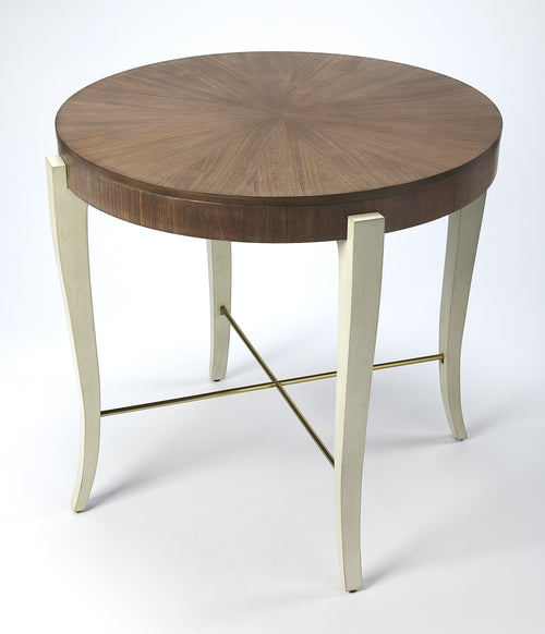 BLANCHARD - LIGHT COCOA WOOD - FOYER TABLE