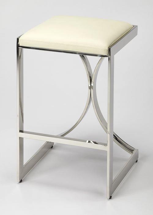 NATALYA - SILVER - COUNTER STOOL
