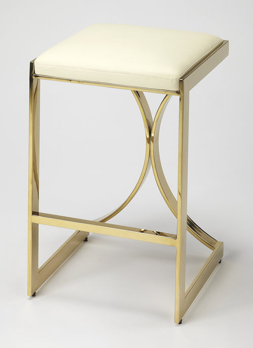 NATALYA - GOLD - COUNTER STOOL