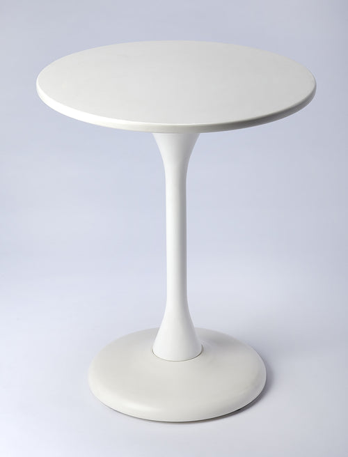 ANGELIQUE - WHITE - ACCENT TABLE
