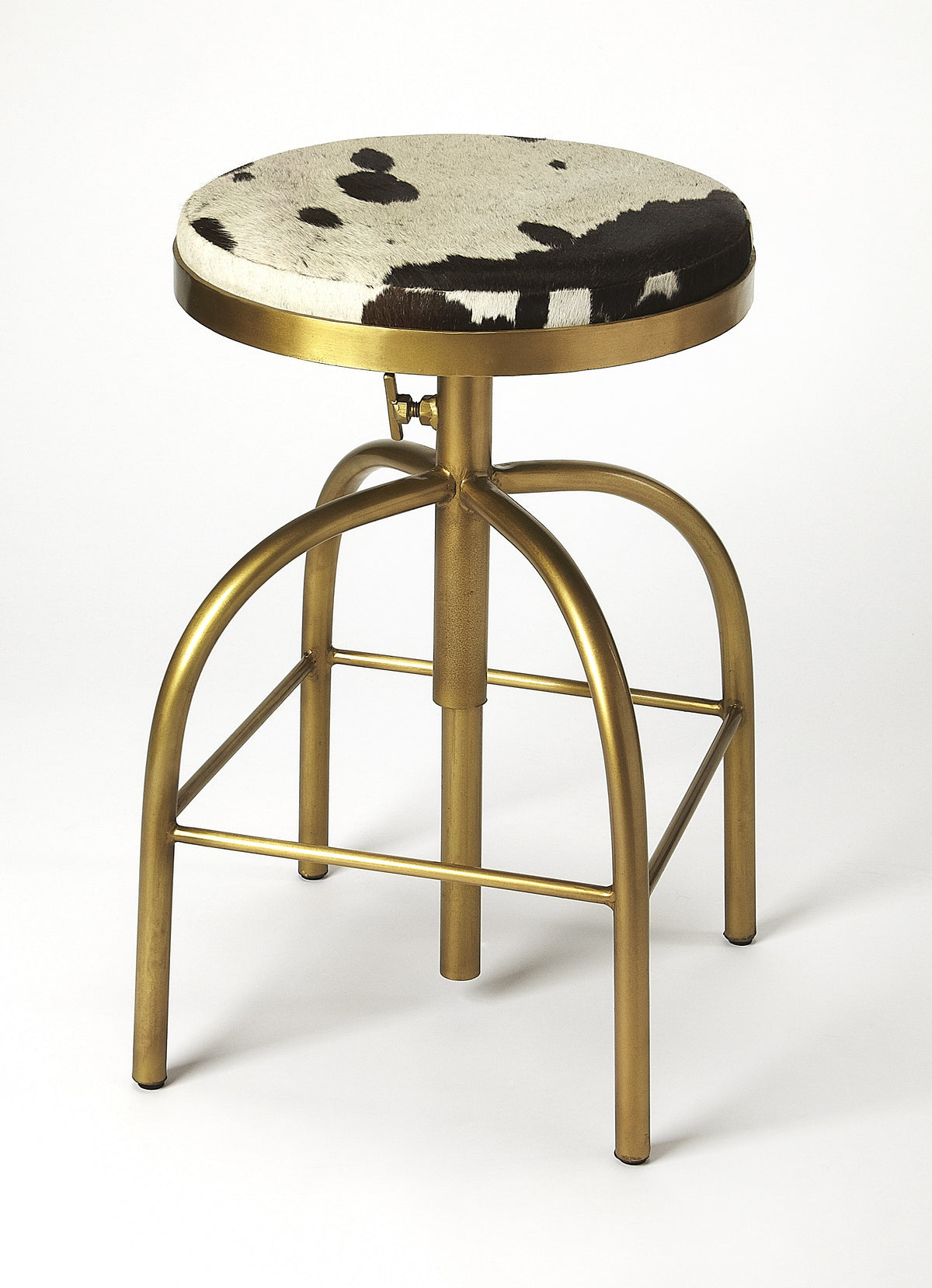 GROGAN - HAIR-ON-HIDE - BARSTOOL