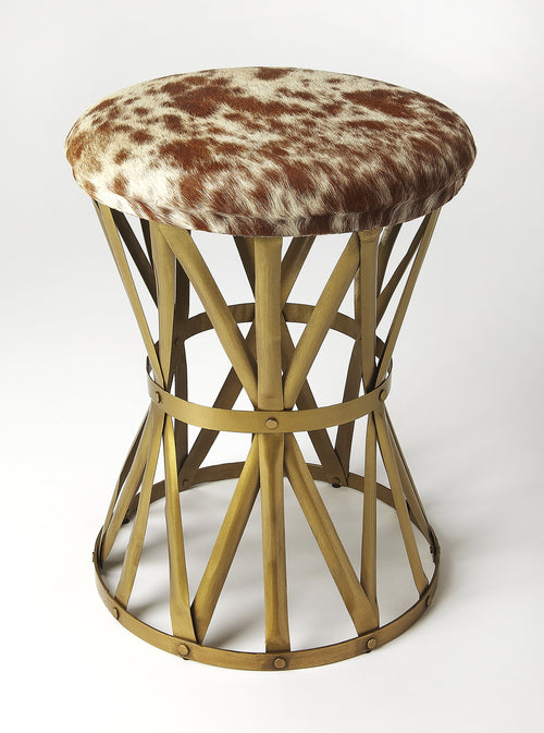 PARKER - HAIR-ON-HIDE - STOOL