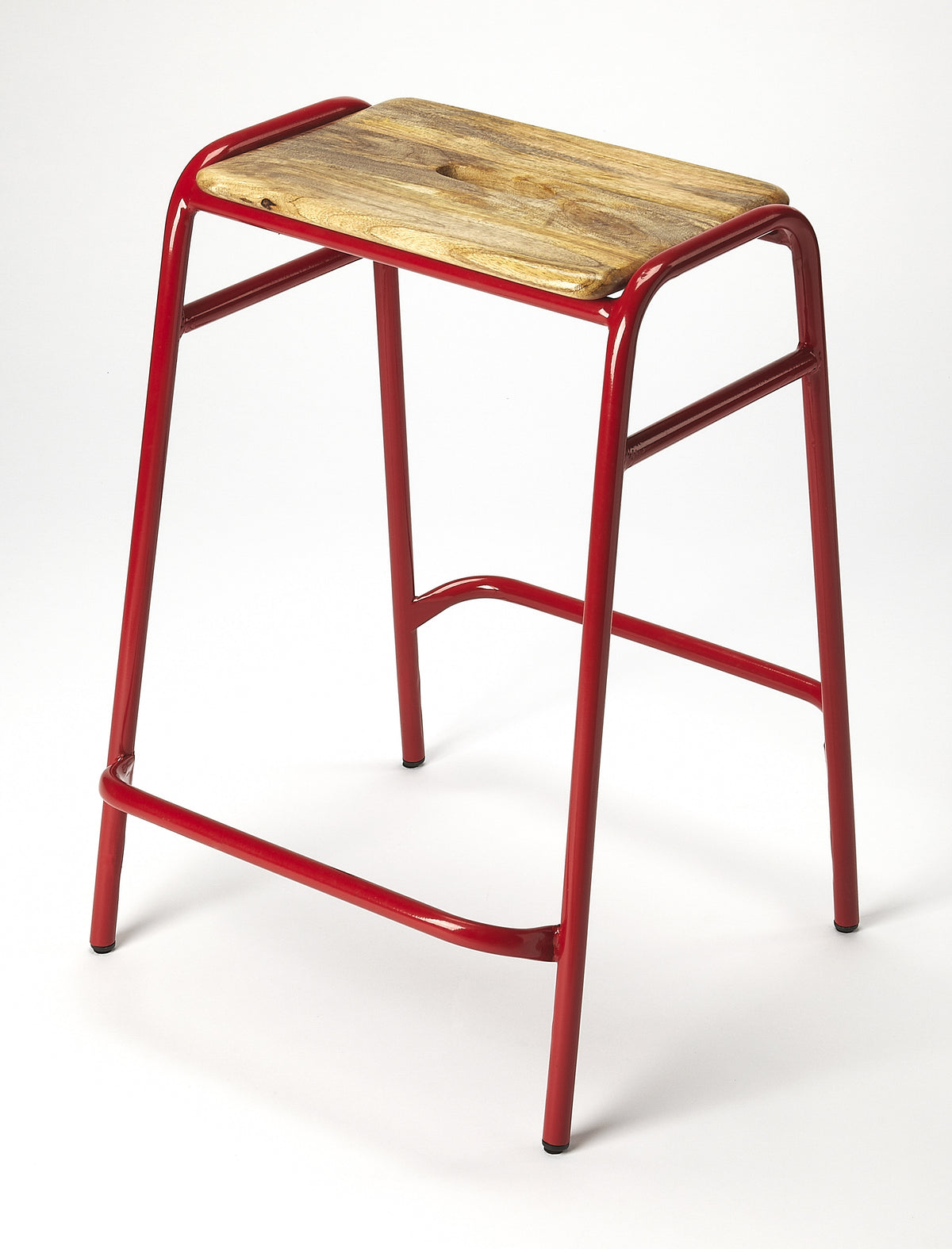 DAWSON - RED - COUNTER STOOL