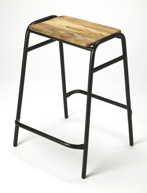 DAWSON - BLACK - COUNTER STOOL