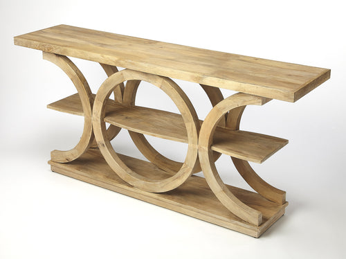 STOWE - RUSTIC MODERN - CONSOLE TABLE