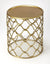 GLENDALE - ANTIQUE GOLD - ACCENT TABLE