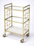 ARCADIA - POLISHED GOLD - BAR CART