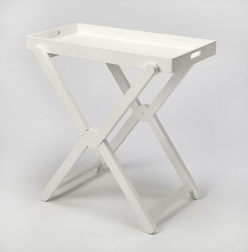 EDNA - WHITE - TRAY TABLE