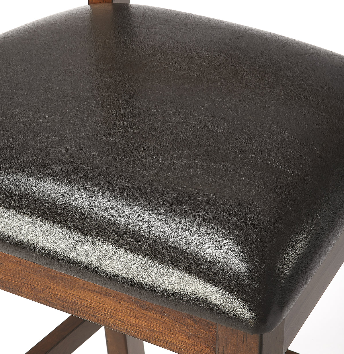 PLATO - DARK BROWN - PUB STOOL
