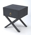 LARK - NAVY BLUE - END TABLE