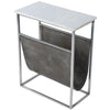 KOLER - MARBLE & LEATHER - MAGAZINE TABLE