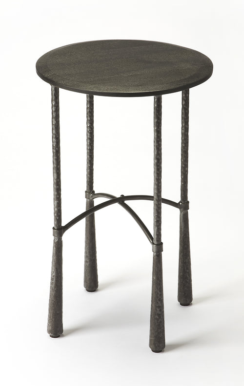 ROLAND - IRON & LEATHER - BARSTOOL
