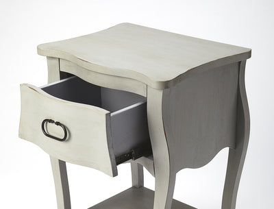 ROCHELLE - GRAY - END TABLE
