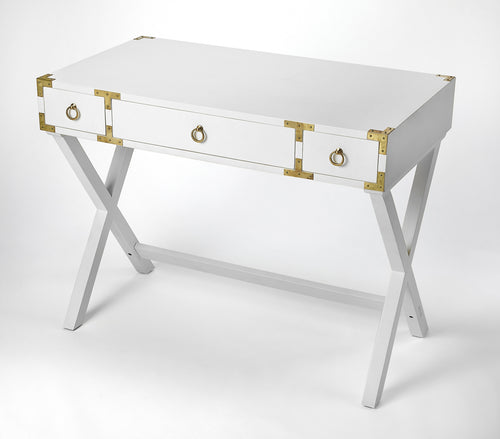 PENINSULA - METAL & GLASS - TIERED SIDE TABLE