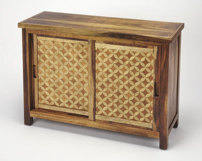 HARLOW - SOLID WOOD - CONSOLE CABINET