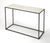 PHINNEY - MARBLE & METAL - CONSOLE TABLE