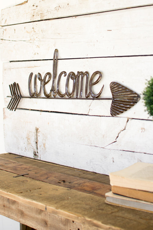 Metal Welcome Sign - Bello Lane