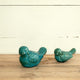 Warbler Bird Statues set of 2