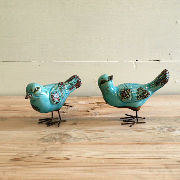 Song Bird Statue set of 2 - Bello Lane