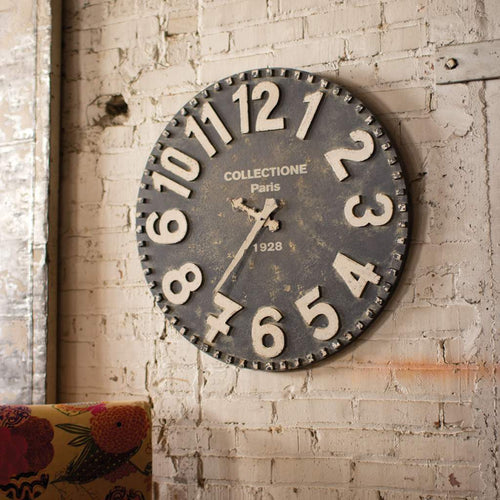 Wooden Wall Clock - Bello Lane