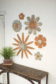 Wall Wooden Flowers