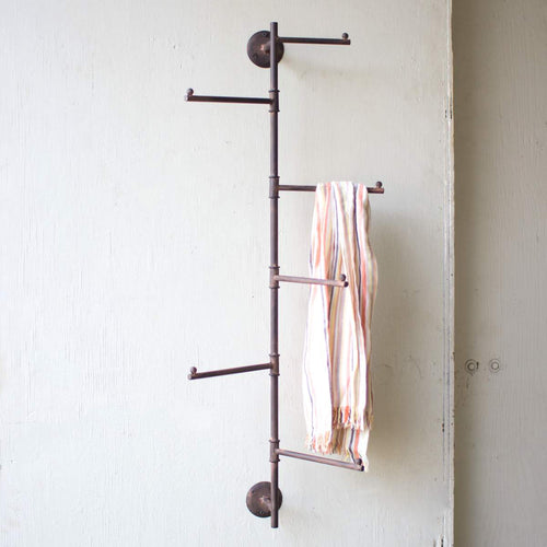 Rustic Wall Coat Rack - Bello Lane