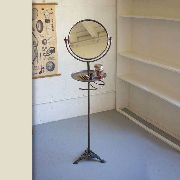 Floor Standing Mirror With Tray