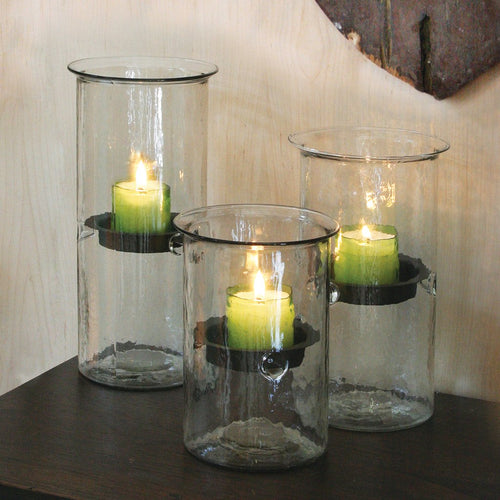 Glass Cylinder Candleholder - Bello Lane