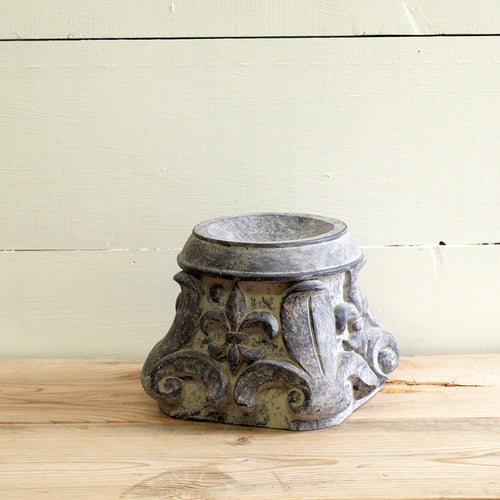 Fleur De Lis Candle Holder - Bello Lane