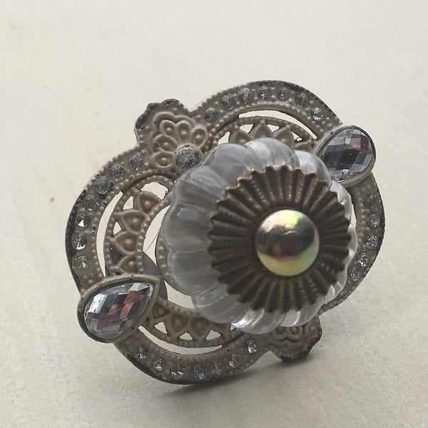 Vintage Sparkle Drawer Pull