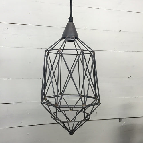 Industrial Caged Pendant Light - Bello Lane