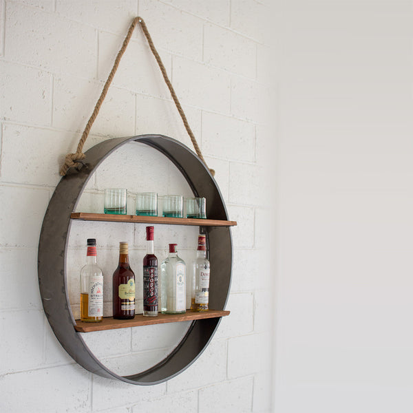 Iron Wall Shelf