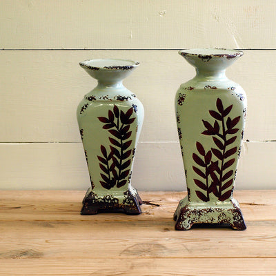 Leaf Candle Holders - Bello Lane