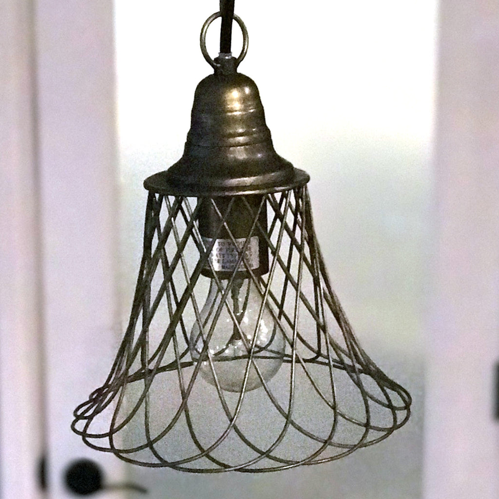 Farmhouse Cage Pendant Light