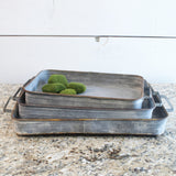 Metal Serving Tray - Bello Lane